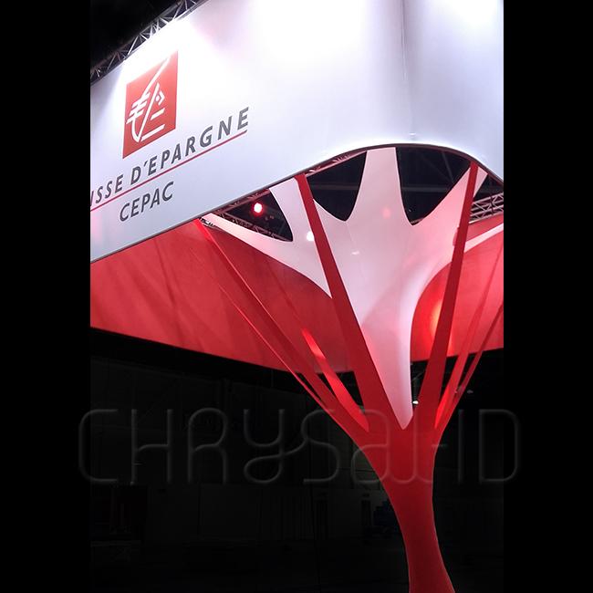 stand cepac caisse d 39 epargne 22 me salon de l. Black Bedroom Furniture Sets. Home Design Ideas