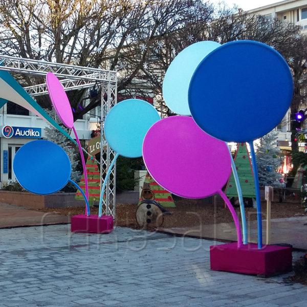 Marché de Noël de Douai, haut en couleurs