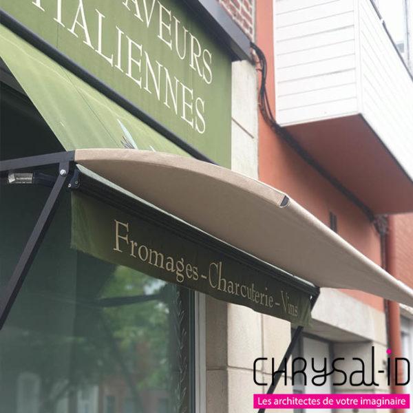 Stores sur-mesure – Aux Saveurs Italiennes