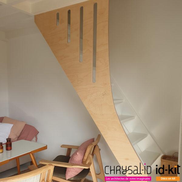 Bardage Escalier Sur-Mesure